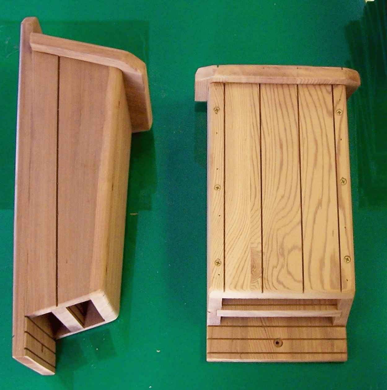 Bat houses by knwoodworks for Bat house plans
